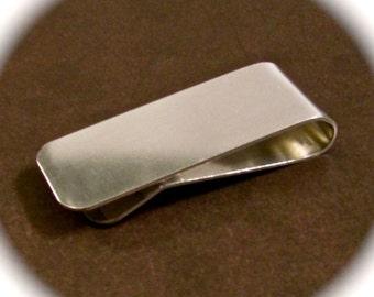 "50 Blanks Money Clips Polished 16 Gauge 3003 Flexible Strong Aluminum 1 x 5"" - 50 Blanks - FLAT"