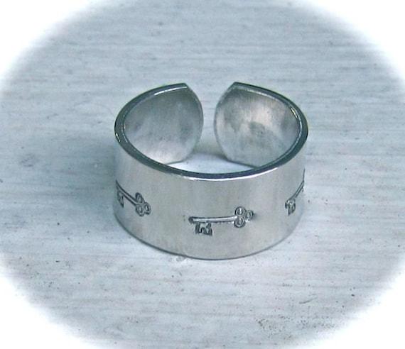 30 YOU CHOOSE Kit 14 Gauge Ring Blanks Heavy Weight  Pure Aluminum - 12 Large - 12  Medium -  6 Small - 30 FLAT Blanks