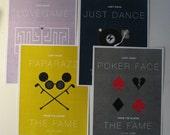 Lady Gaga Posters - Set of 4 Prints