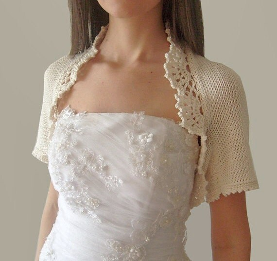 Bridal Bolero Cashmere wedding shrug knit bolero jacket Wedding sweater Bridal Shrugs Knitted Wool bolero Bridesmaid Cover Up Gift for her supersoftknits. 5 out of 5 stars Light and Lacey quickly knit bolero - vintage knitting pattern PDF () SubversiveFemme. 5 out of 5 stars (1,) $ Favorite.