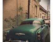 Old American car in Cuba no 2  photograph