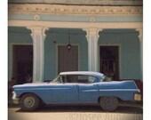 Old American car in Cuba no3  photograph