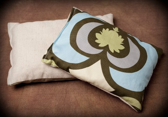 Heating pad // cold pad, eye pillow, yoga pillow // Compresse thérapeutique // Sac chauffant / froid