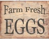 Primitive printable Download Farm Fresh Eggs , Farmhouse Decor , SOOO..... EASY , ( anyone an make these ) digital , jpg , labels