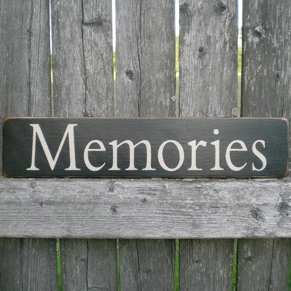 Ships Canada Us Wide Wood Sign: Primitive Wood Sign Memories By Scaredycatprimitives On Etsy