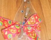 Recycled Wine Bottle Platter
