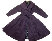 1940's New Look Lilli Ann Coat, PRIMO and Gorgeous - REDUCED