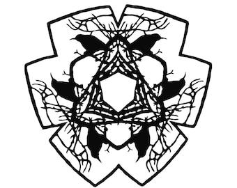 PRINT from an original papercut