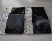 Night and Day  Fused Glass Coasters