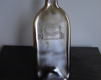 Recycled and Upcycled Concannon Wine Bottle