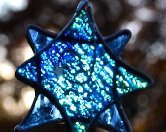 Twinkle Star  Stained Glass Suncatcher