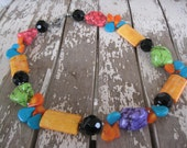 Additional 15% OFF already marked down- Funky Western Necklace