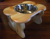 5 Quart 12 Inch Single - Ergonomically Designed Pet Feeder - Elevated Dog Bowl