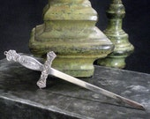 Vintage Pettibone Sword Letter Opener - necklace - ready to ship