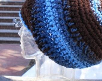CROCHET PATTERN for Puff Puff Rasta Hat