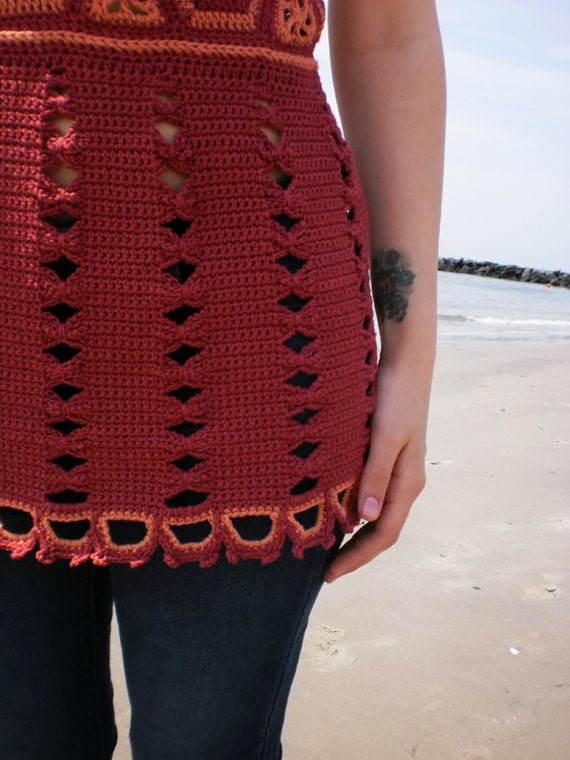 PATTERN for Reina Crocheted Top