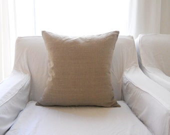 SQUARE PILLOW COVER....100% linen