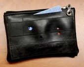 ReVelo Patch Pocket Inner Tube Zip Pouch for Coins, Cash, Credit Cards and even patch kits