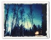 Night Cabin, Minnesota