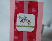 Vertical Love Bird Card