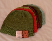 Organic Cotton Bamboo Adult Beanie Hat
