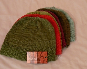 Organic Cotton / Bamboo Adult Beanie Hat