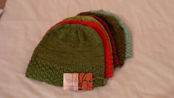 Organic Cotton / Bamboo Adult Beanie Hat