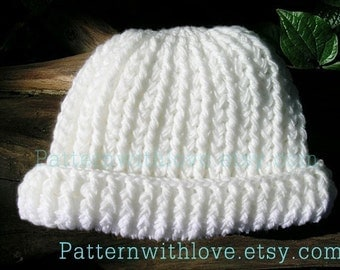 Cozy pdf Crochet hat pattern, Hat Pattern, Winter hat, Woman hat, Beanie Pattern, PDF Pattern design by PatternWithLove on Etsy