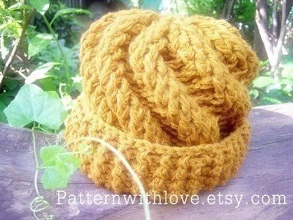 Spiral Hat Pattern, Crochet Hat Pattern,  Crochet Hat Pattern Design, Wave Hat Pattern, PDF Pattern by PatternWithLove on Etsy