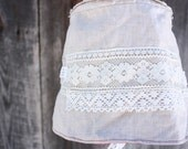 Flax Sunhat with Lace