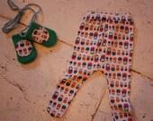 For Sarah: Matroshka Doll Stocking and Mittens