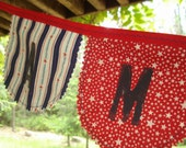 eco friendly AMERICA fabric banner