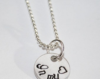 In My Heart Petite Charm Necklace