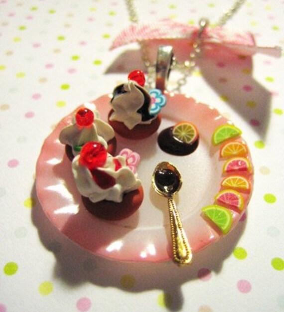 SUPER SALE Cutie Cupcake Collection Necklace