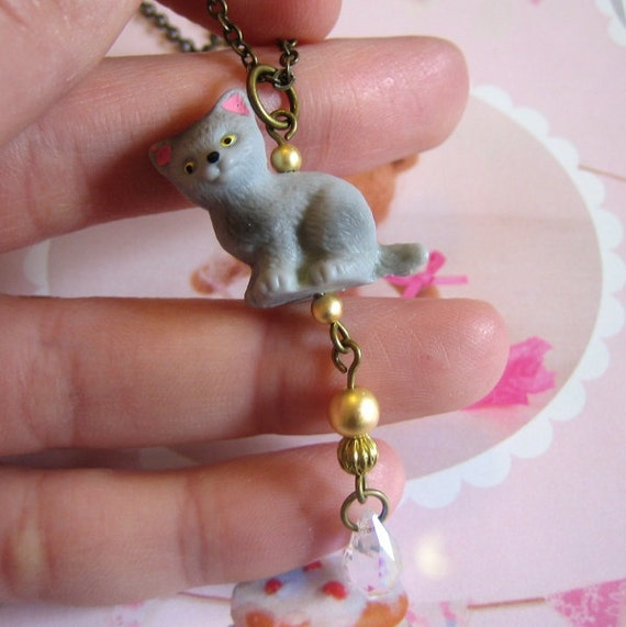 Timothy The Cat Necklace