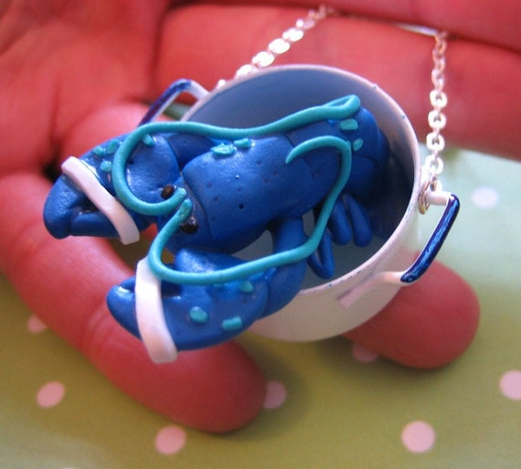 Lorenzo Lobster Pot Necklace