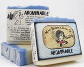 ABOMINABLE - LAST ONE - Limited Edition soap from Mad Hatter Soap Co.