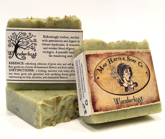 WANDERLUST - handmade soap from Mad Hatter Soap Co.
