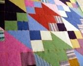 Recycled Wool Baby/Lap Blanket