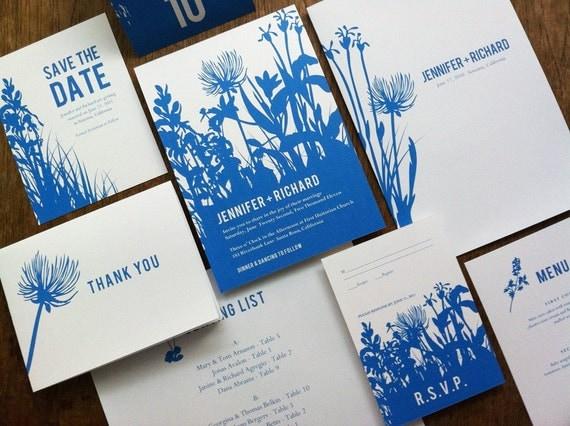 Wedding Invitations Kit: Printable Wedding Invitation Kit Wedding Printables