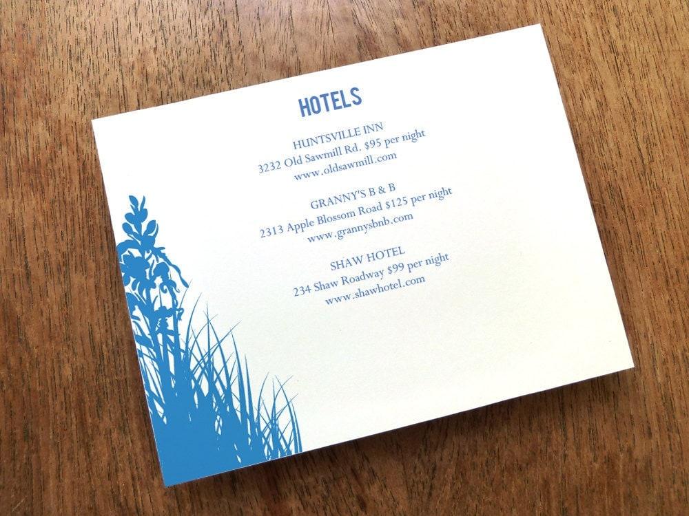 INSTANT DOWNLOAD Wedding Enclosure Card Printable