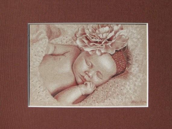 Custom -  Portrait - Child Portrait - Pencil Portrait - Commission - Drawing  - 11 x 14