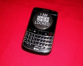 I AM (SHER)LOCKED (button)