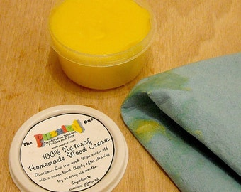 All  Natural Homemade Beeswax Wood Cream -Non Toxic, Eco-Friendly