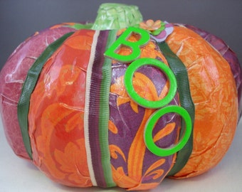 BOOtiful Pumpkin