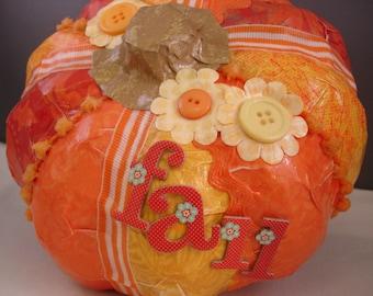 Shades of Orange Pumpkin