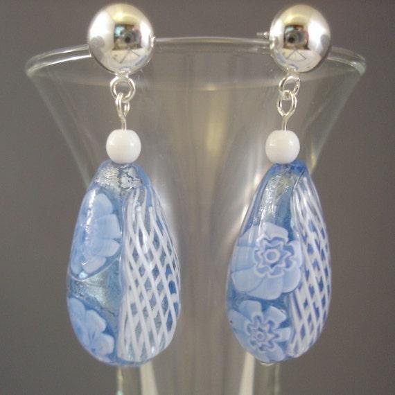 Enchanted Blue Earrings
