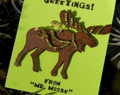 Back Woods Mr. Moose Pin