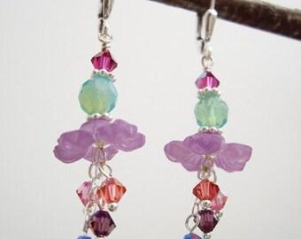 Purple Passion - Earrings