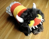RESERVED for Dtcgjen - Where the Wild Things Are Inspired Dogeater Coat
